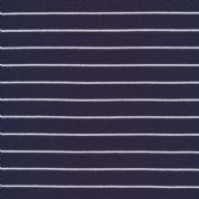 Stripes 2017 Navy - Jersey - Per Quarter Metre